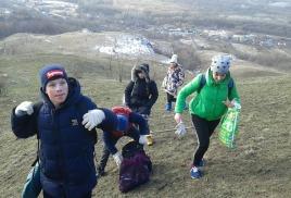 кросс-поход школьников, посвященный 75-летию освобождения Армавира и Краснодарского края от немецко-фашистских захватчиков